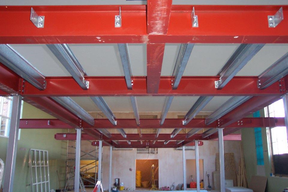Industrial mezzanine floors industrial flooring for Mezzanine floor construction details