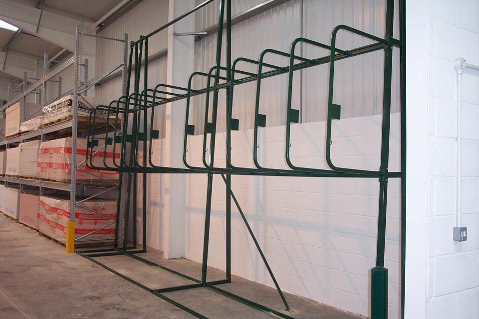 Vertical Racking Timber Racks Pipe Racks Conduit Racks