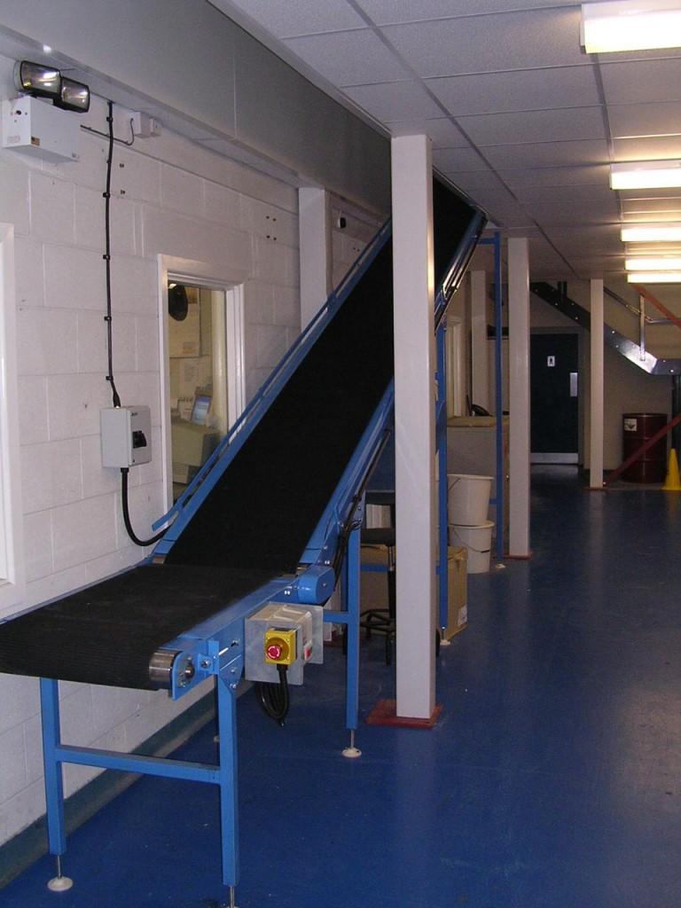 Industrial Conveyors Conveyor Belt Installation