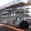 Fully laden double sided cantilever rack
