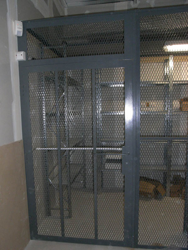 ... Security cage door ... & Industrial secure cages | Secure cages | Warehouse secure cage