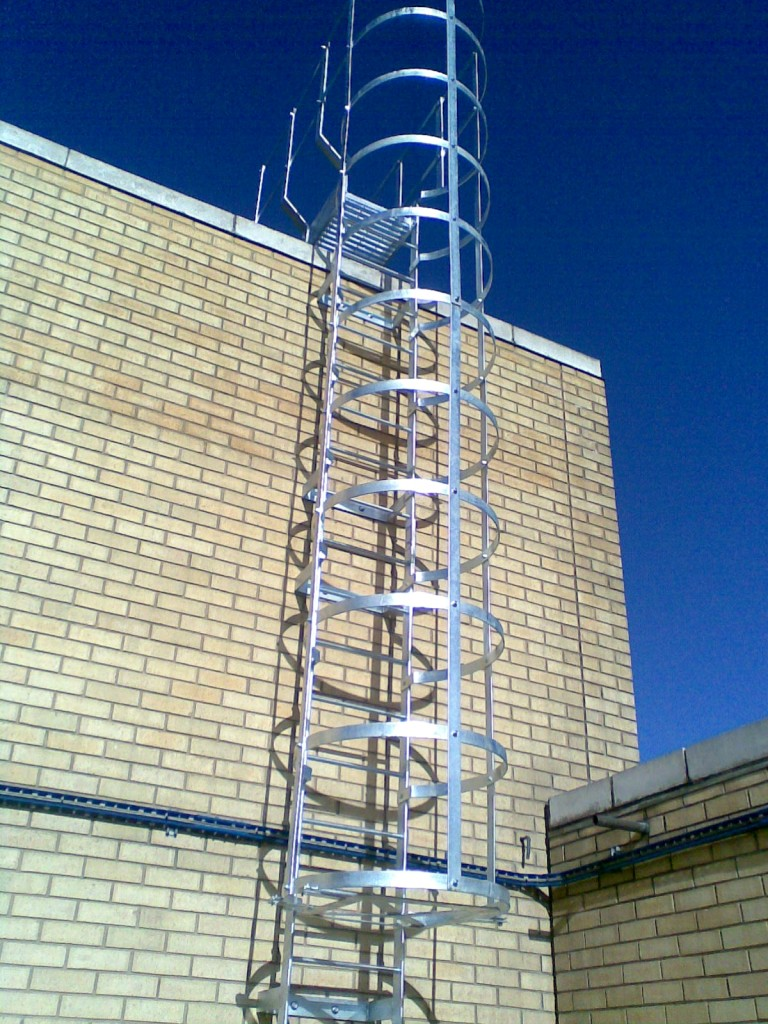 Industrial Cat Ladders Fire Escape Ladders