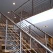 Bespoke stainless handrail