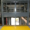 Loading bay secure double doors