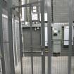 Security cage door