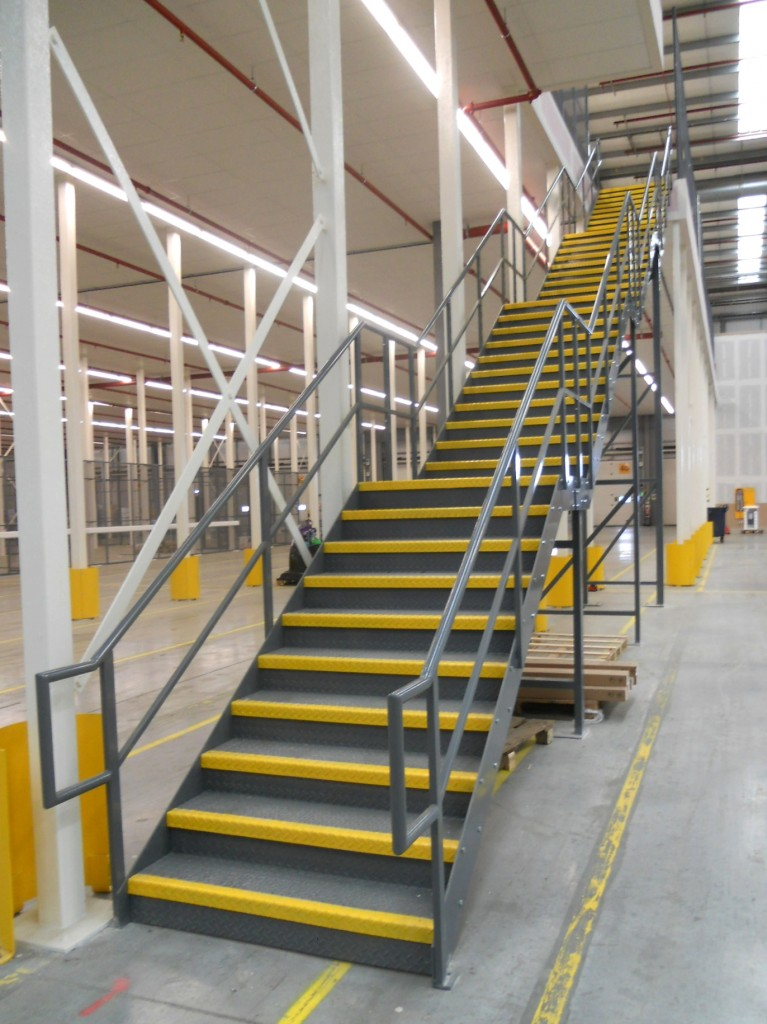 Retail staircases | Industrial staircases | Custom warehouse staircases