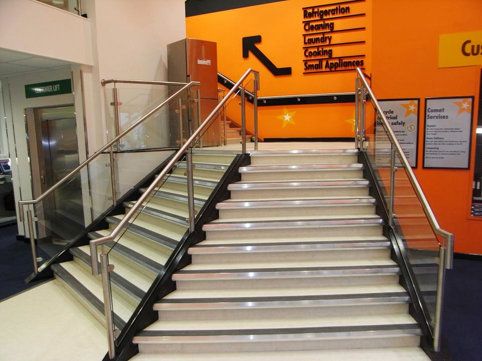 Retail staircases | Industrial staircases | Custom ...