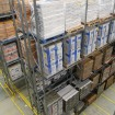 Superbo system loaded with pallets