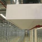 Mezzanine floor in distribution centre