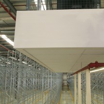 Mezzanine floor in distribution centre